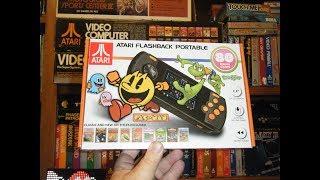 AtGames 2018 Atari Flashback Portable!