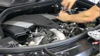 Chiptuning Einbau Mercedes ML450 CDI