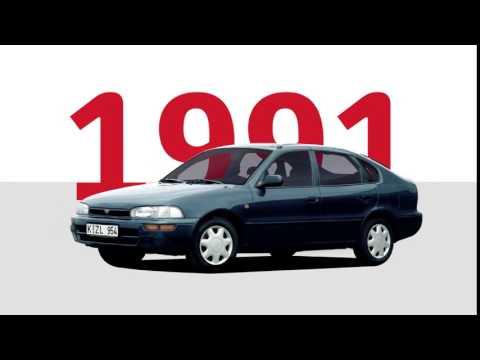 50 років успіху Toyota Corolla