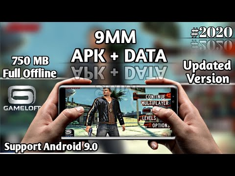 9MM APK + DATA Download For Android | Updated Version Support 9.0 Pie | Gameloft Offline Game | 2020
