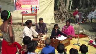 """ Ranga Matir Deshe Ja..."" by a Rural Children,Zonal Welfare Council NGo Proggramme"