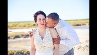 10 year Vow renewal of Mr & Mrs Manuel at Strandkombuis in Yzerfontein, West Coast