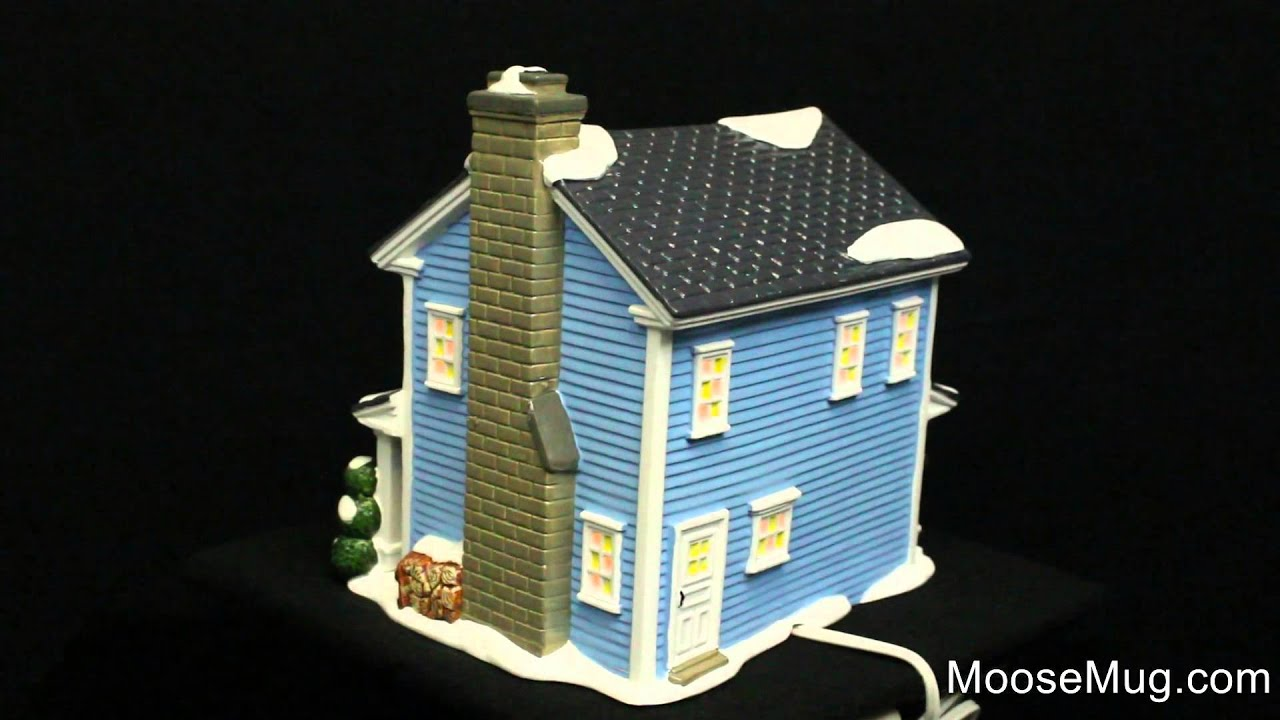 department 56 christmas vacation snow village todd margos house