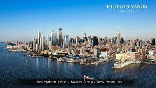 Official Hudson Yards Construction Time-Lapse