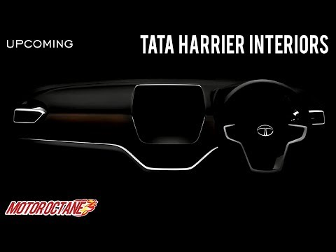 Tata Harrier Interiors Teased   Hindi   MotorOctane