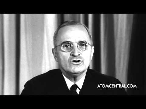 Truman announces the surrender of Germany WWII HD