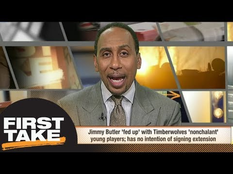 Stephen A. vs. Isn't Buying Jimmy Butler Being Fed Up with Timberwolves Young Players