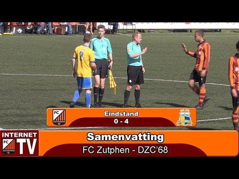 Samenvatting FC Zutphen - DZC'68 (0-4)