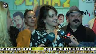 DELİHA 2 FİLMİN İZMİR GALASI OPTIMUM AVM'DE YAPILDI