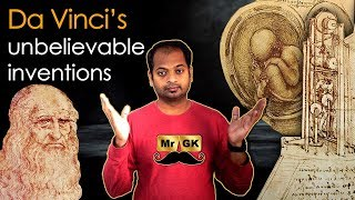 Unbelievable inventions of Leonardo da Vinci in Tamil | Mr.GK