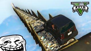 GTA V Online: A SUPER RAMPA DO LIXO!!! (FUI 100% TROLLADO)