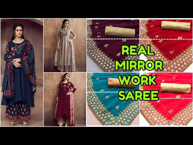 Partywear Catalogue Readymade Salwar Kameez/Designer Partywear Mirror Saree / Designer  #prititrendz