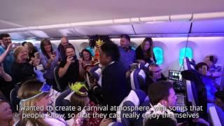 British Airways Mardi Gras Party Flight