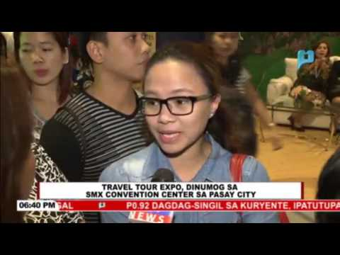 Travel Tour Expo sa SMX Convention Center sa Pasay City, dinumog