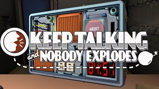 Keep Talking and Nobody Explodes (PC) James & Mike Mondays