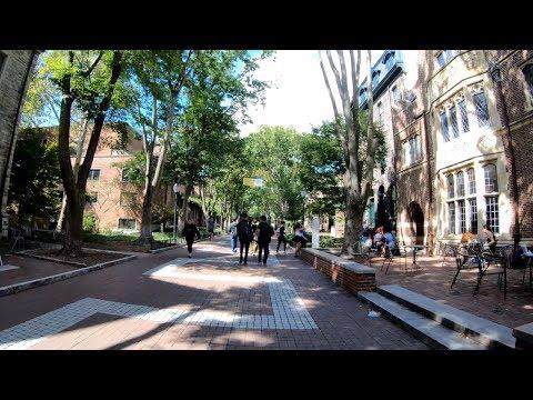 ⁴ᴷ Walking Tour of Philadelphia, PA - Fairmount to University City (Includes UPenn Campus)