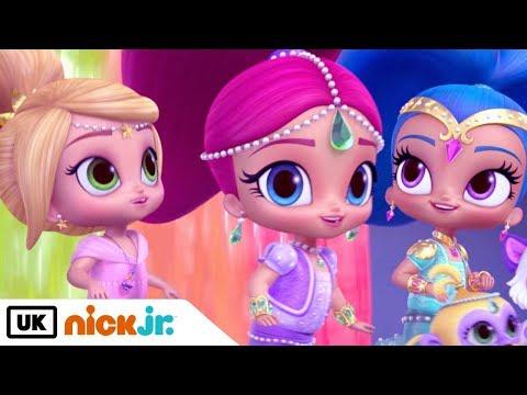 Shimmer and Shine   Sing Along: Theme Tune   Nick Jr. UK