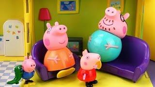 Смотреть про PEPPA 036 Гроза 720p свинка пепа