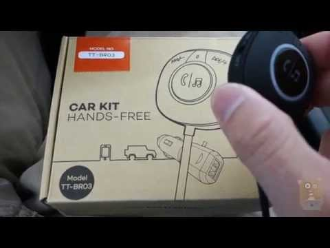 TaoTronics Bluetooth Hands Free Car Kit TT-BR03 Review