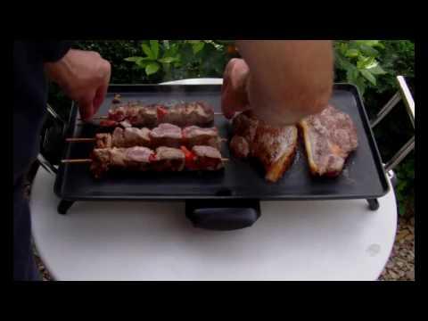 2000w Teppanyaki Electric Grill - YouTube