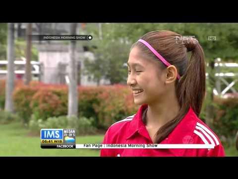 Zahra Muzdalifah, Pemain Sepakbola Perempuan