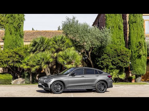 2020 Mercedes-AMG GLC 43 4MATIC the new coupe SUV