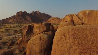 Overview of Namibia Scenery - Desert Car Hire