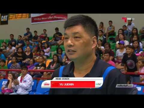 Bayi CHN vs TPE Taiwan Power   AVC Club Volleyball Championship 2016