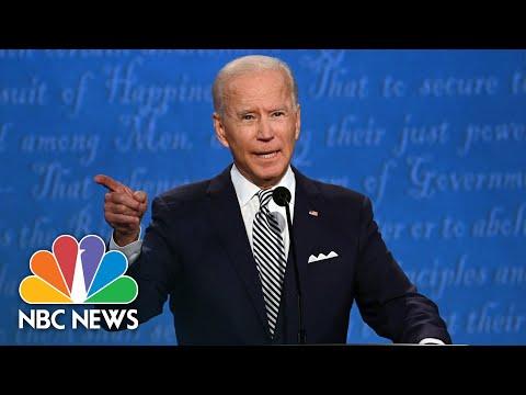 Will You Shut Up Man?': Biden Blasts Trump For Interrupting | NBC News