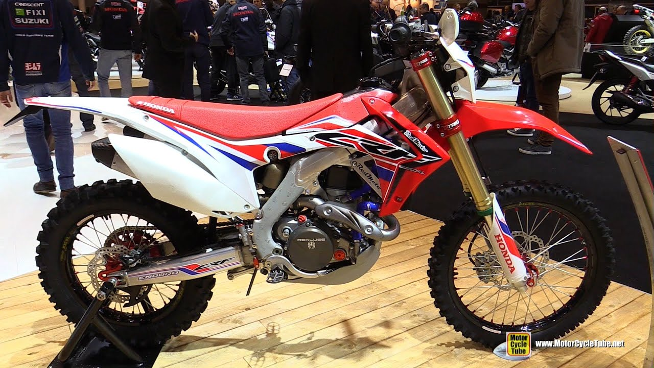 2016 honda crf450 enduro r walkaround 2015 salon moto paris youtube. Black Bedroom Furniture Sets. Home Design Ideas