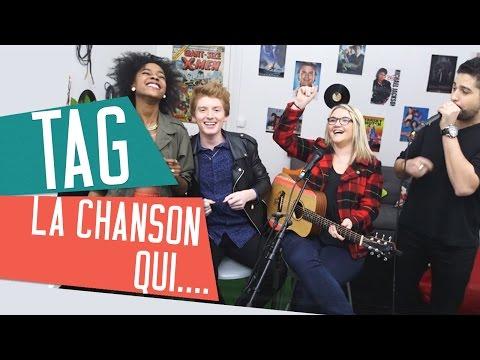 [TAG] LA CHANSON QUI... avec Inaya, Lola Dubini, Elliott et Sidi Biggy