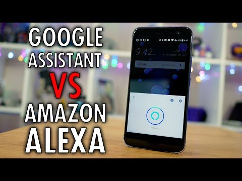Amazon Alexa vs Google Assistant on the HTC U11