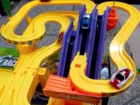 track set playset track racer racing car toy kids toys youtube