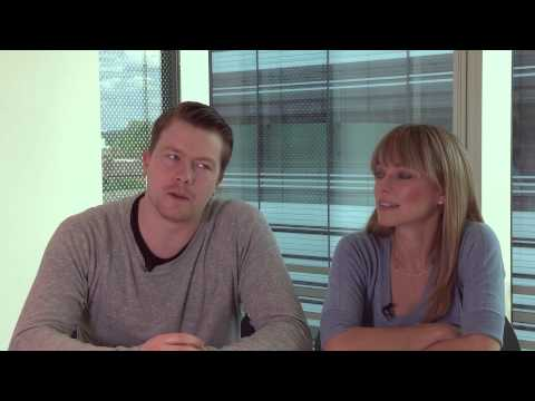 Daniel Rigby & Sarah Alexander discuss Undercover - Freeview Interview