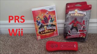 Power Rangers Samurai: Nintendo Wii (Unboxing And Mission 1)