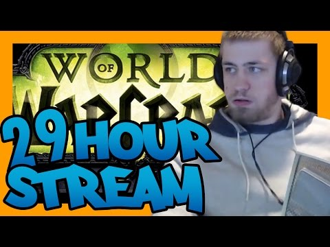 WoW Legion 110 Journey - 29 hour stream in 5 Minutes