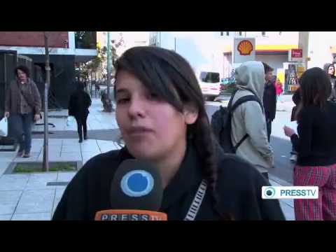 Buenos Aires students protest against education reform