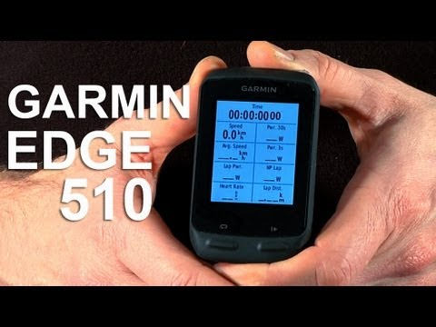 Garmin Edge 510 - First Impressions - YouTube