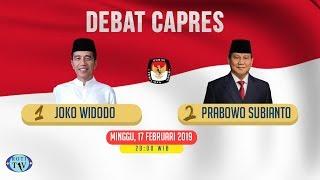 Live Streaming Debat Kedua Capres Pemilu 2019