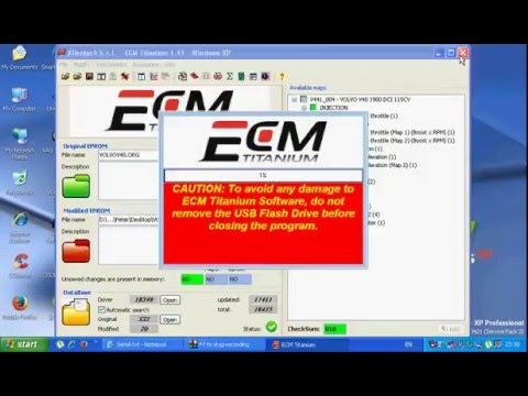 ECM Titanium V1 61 HOW TO MODIFY YOUR ECU FILE, REMAP