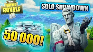 PLAYED ON 50 000 V-BUCKS | Fortnite Battle Royale [EN/English]