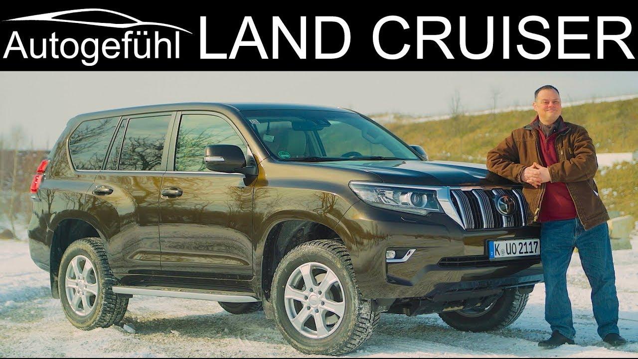 Toyota Land Cruiser FULL OFFROAD REVIEW new Facelift 2018 2019 Land Cruiser Prado - Autogefühl - Dauer: 29 Minuten
