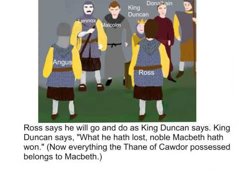 Macbeth - Act 1, Scene 2 Summary