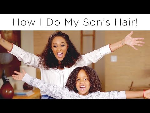 Tia Mowry's Curly Hair Routine for Kids | Quick Fix