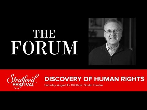 The Discovery of Human Rights | Stratford Festival 2015