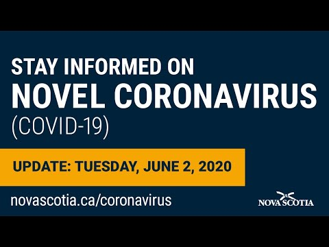 Update COVID-19 for Nova Scotians: Tuesday June 2