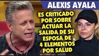Zapętlaj Alexis Ayala es duramente criticado por exagerar salida de su esposa de reto 4 elementos por salud | Flash Farandula