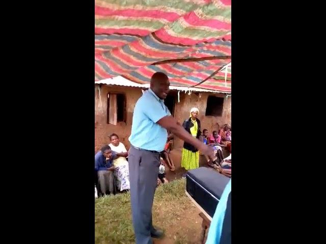 Preaching to Multitudes a Funeral in Uganda