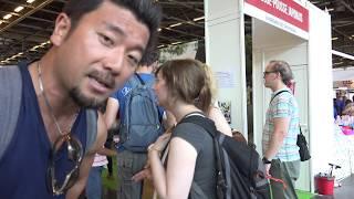 【日本の人力車集団・リキシャーズ】フランス・パリ・ジャパンエキスポ2018!Japan(Japon) Expo Paris 2018,France thumbnail