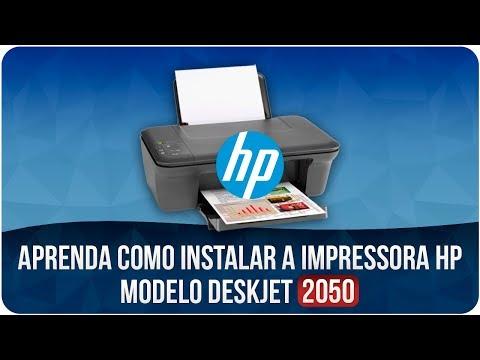 Como Instalar O Driver Básico Da Impressora HP Deskjet 2050
